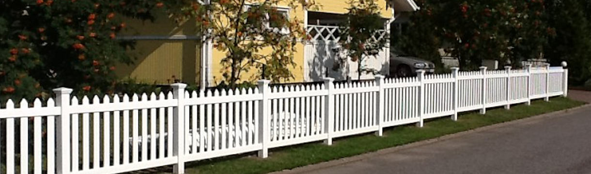 Vinyl fence around your home